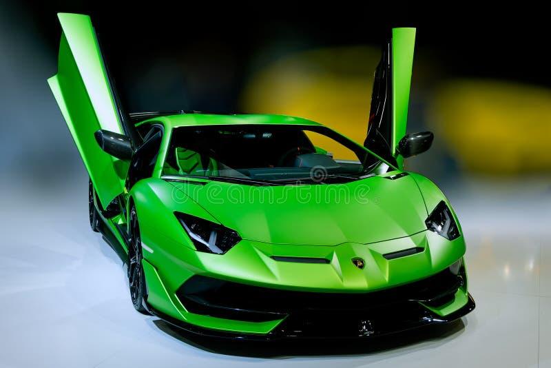 Exposição automóvel 2018 de Paris imagem de stock royalty free