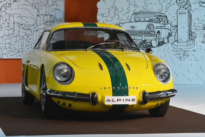 Exposição automóvel 2018 de Paris - Willys Interlagos 1964 imagem de stock royalty free