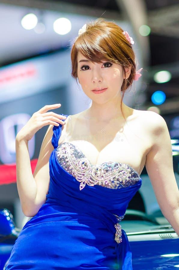 EXPOSIÇÃO AUTOMÓVEL 2015 EM TAILÂNDIA foto de stock royalty free