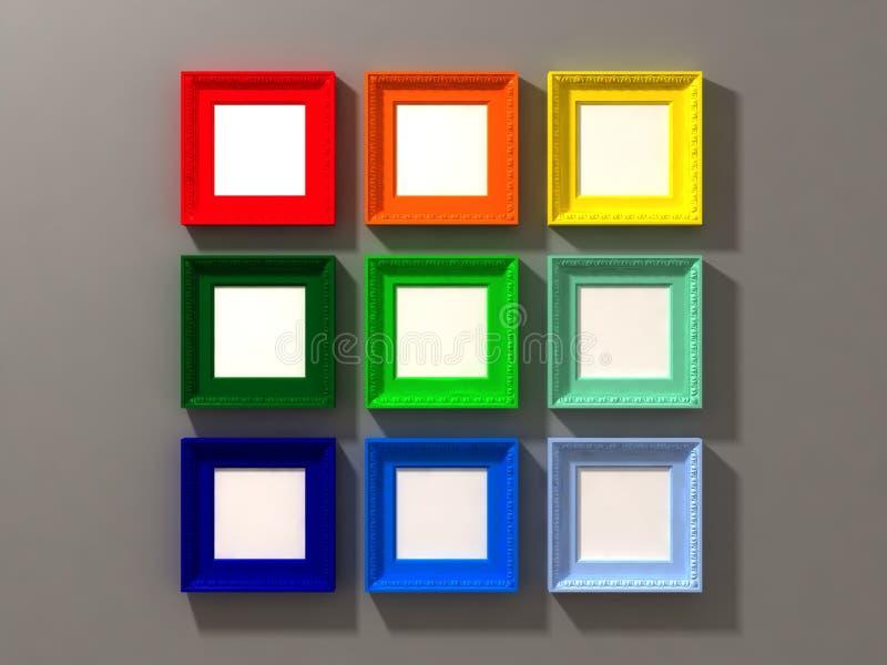 Download Exposição Clássica Do Frame Ilustração Stock - Ilustração de blank, coleção: 12810571
