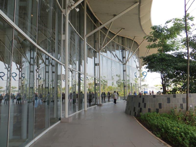 Exposição da convenção de Indonésia em Tangerang fotografia de stock