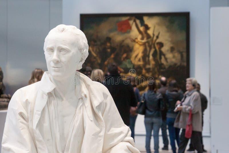 Exposição da lente do Louvre imagens de stock royalty free