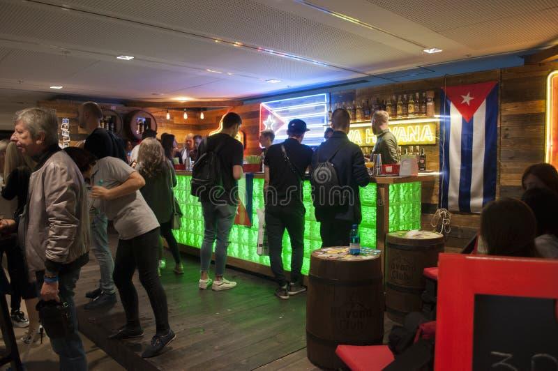 Exposição da mostra do barômetro Kiev setembro de 2018 imagens de stock