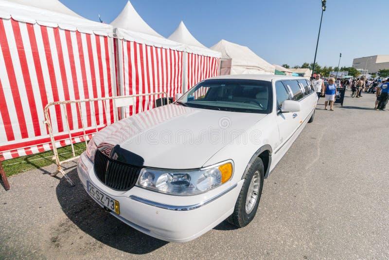 Exposição de carros do vintage na mostra imagens de stock royalty free