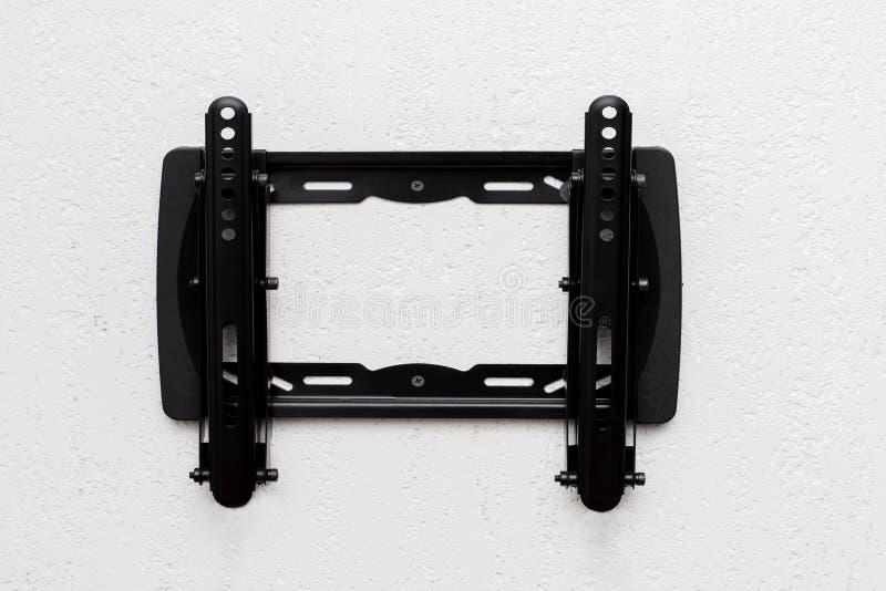 Exposição de diodo emissor de luz do suporte da tevê fotografia de stock royalty free