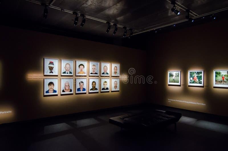 Exposição de Pieter Hugo em Éstocolmo fotos de stock