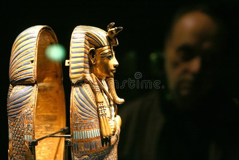 Exposição de Tutankhamun imagens de stock