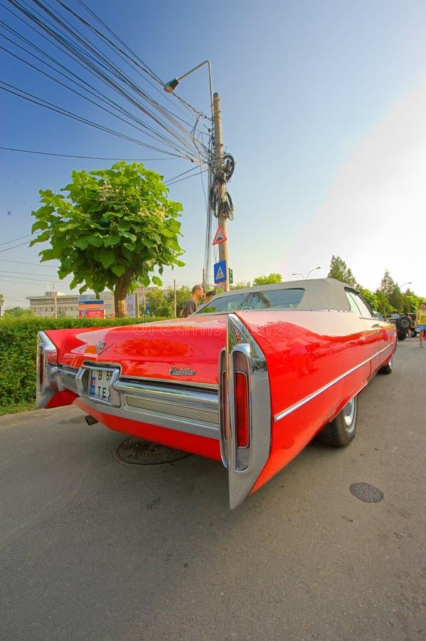 Exposição do carro na mostra de carro clássica de Bucareste imagem de stock royalty free