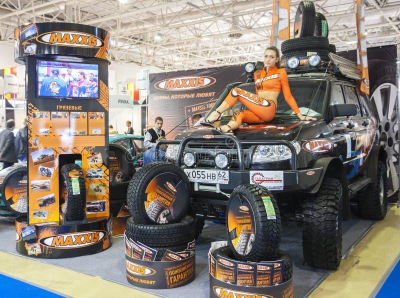Exposição internacional Automechnika fotografia de stock royalty free