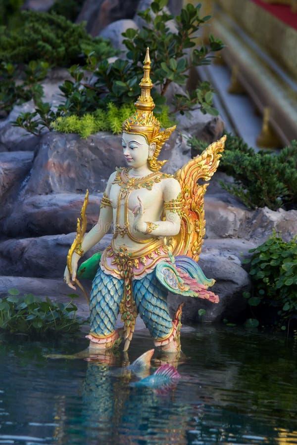 Exposição na cerimônia real da cremação de seu rei Bhumibol Adulyadej da majestade, terra cerimonial de Sanam Luang, Banguecoque, imagem de stock royalty free