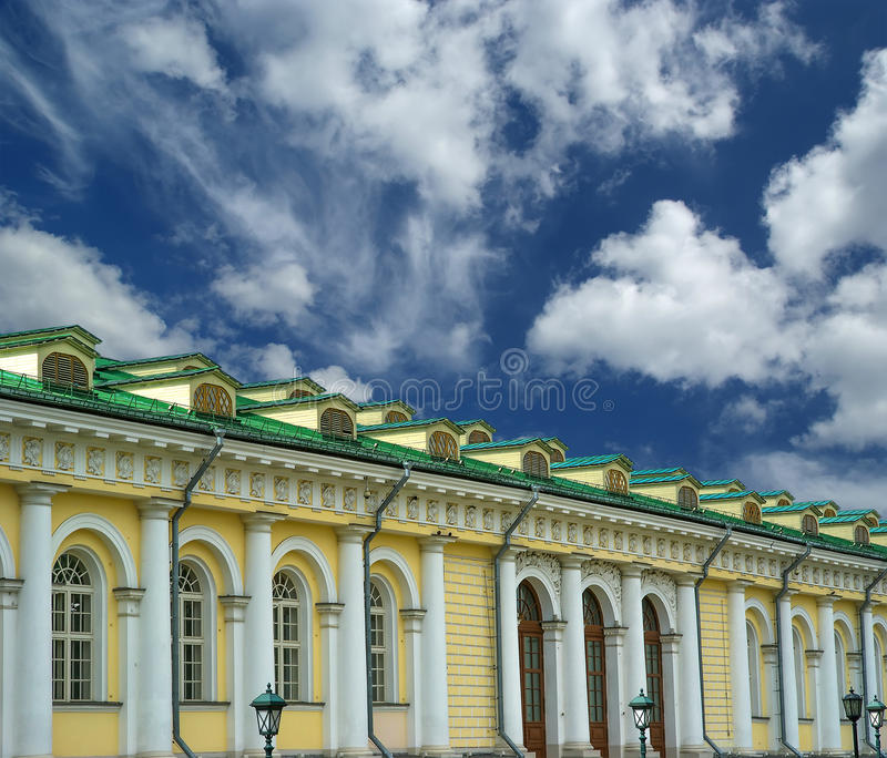 Exposição salão de Manege em Moscou. Rússia imagens de stock