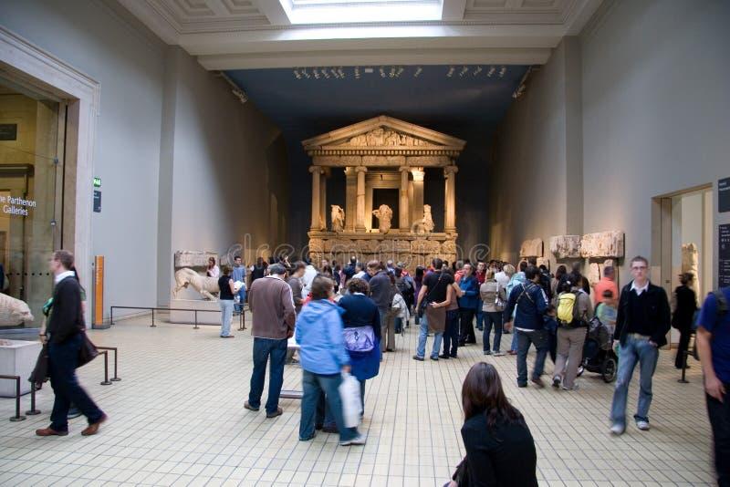 Exposições de British Museum imagens de stock royalty free