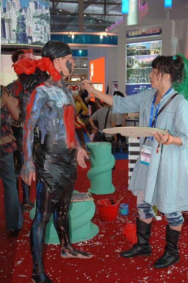 Exposición cultural en Shenzhen, China imagenes de archivo