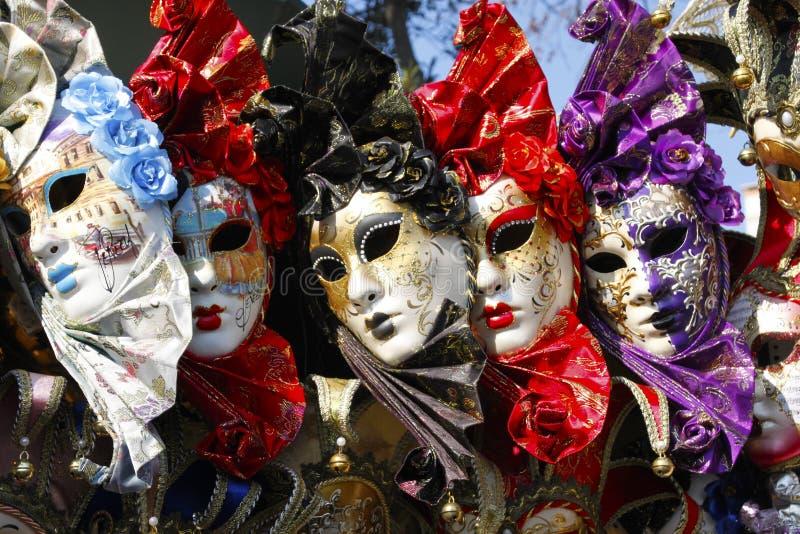 Exposición de máscaras de Venecia fotos de archivo libres de regalías