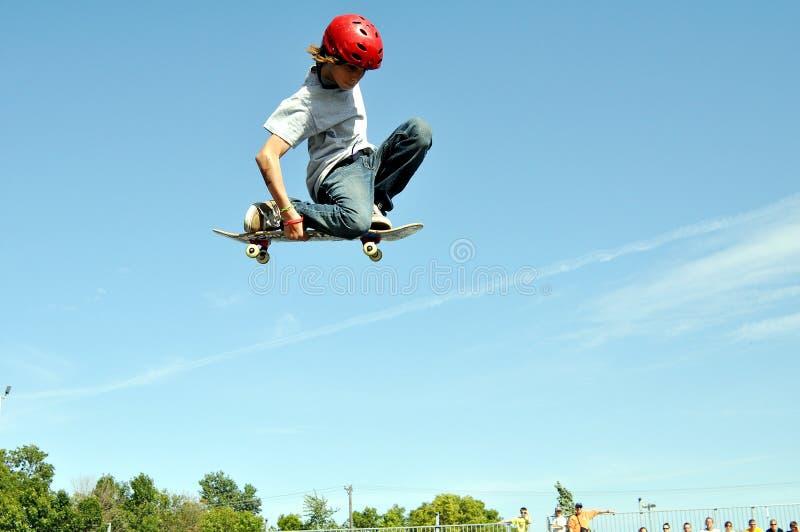 Exposición de Skateboading imagen de archivo