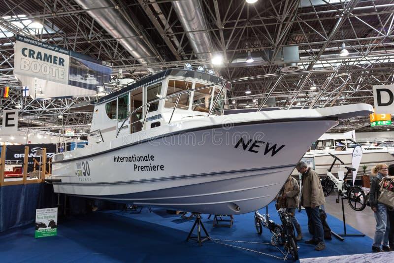 Exposición 2015 del barco en Duesseldorf, Alemania fotos de archivo libres de regalías