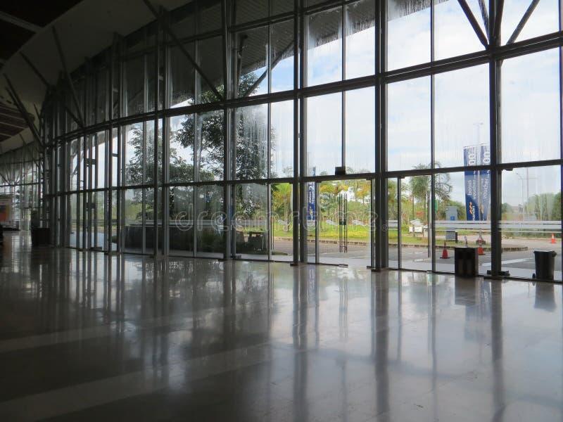 Exposición del convenio de Indonesia en Tangerang imagenes de archivo
