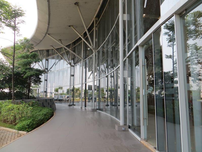 Exposición del convenio de Indonesia en Tangerang imagen de archivo