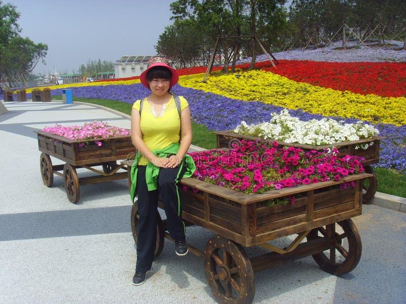 Exposición hortícola internacional de China Jinzhou foto de archivo libre de regalías
