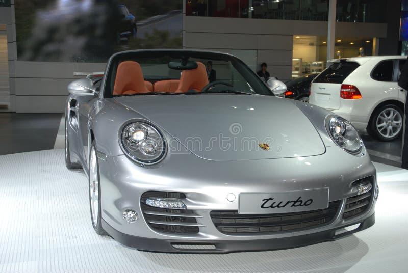 Exposición internacional Porsche del automóvil de China fotografía de archivo