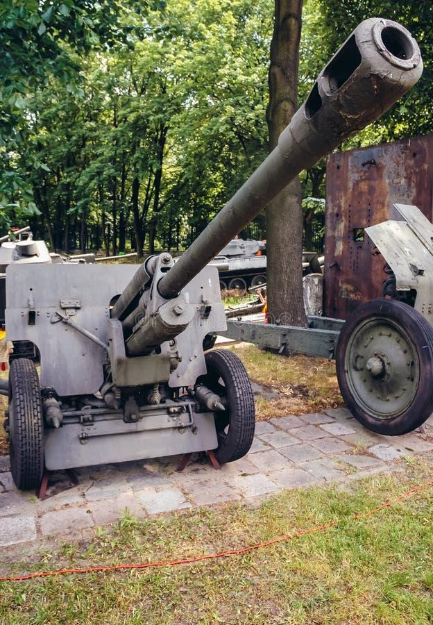 Exposición militar en Varsovia foto de archivo libre de regalías