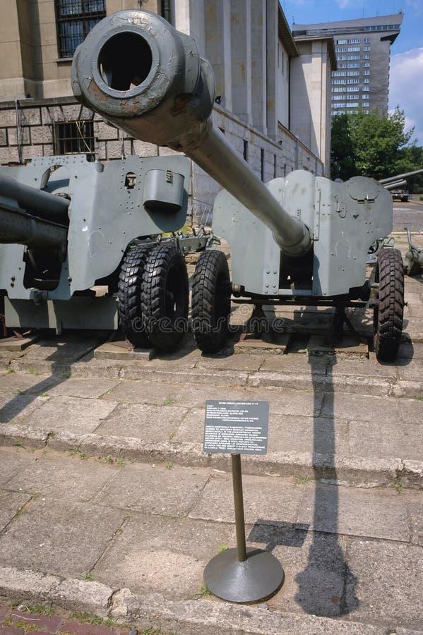 Exposición militar en Varsovia fotografía de archivo libre de regalías