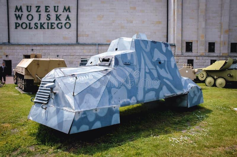 Exposición militar en Varsovia imagenes de archivo