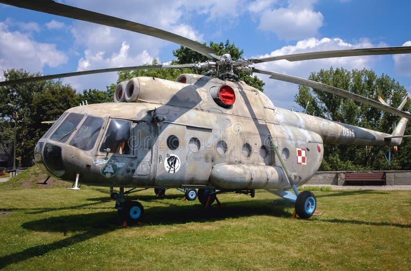 Exposición militar en Varsovia imagen de archivo