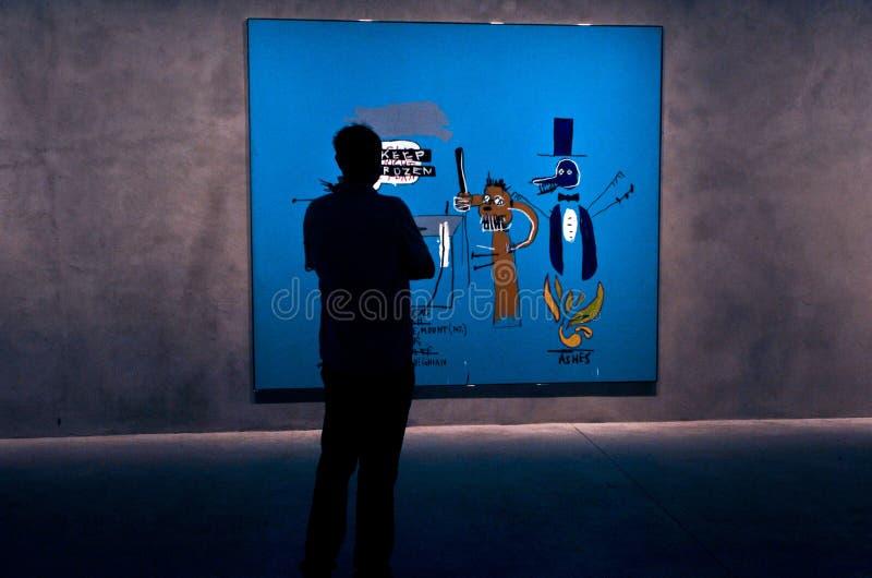 Exposicion σύγχρονης τέχνης στοκ φωτογραφία