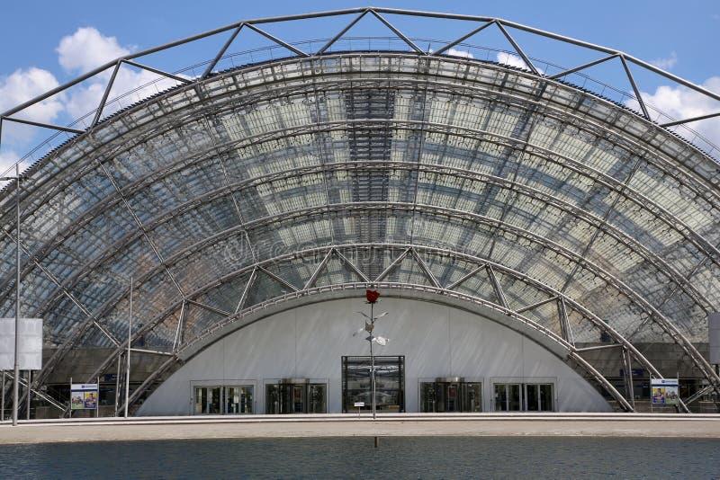 Exposition à Leipzig image libre de droits