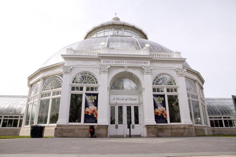 Exposition 2011 d'orchidée de jardin botanique de Bronx photos libres de droits