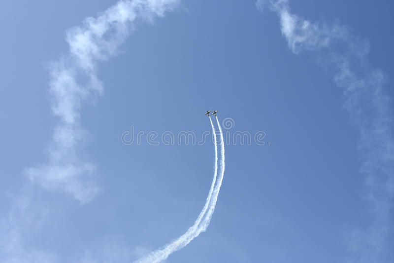 Exposition aéronautique photos libres de droits