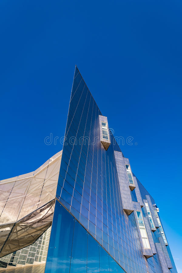Trade Fairs and Congress Center in Malaga, Spain stock photography