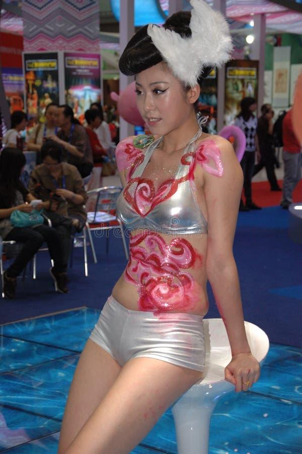 Exposition culturelle à Shenzhen, Chine images stock