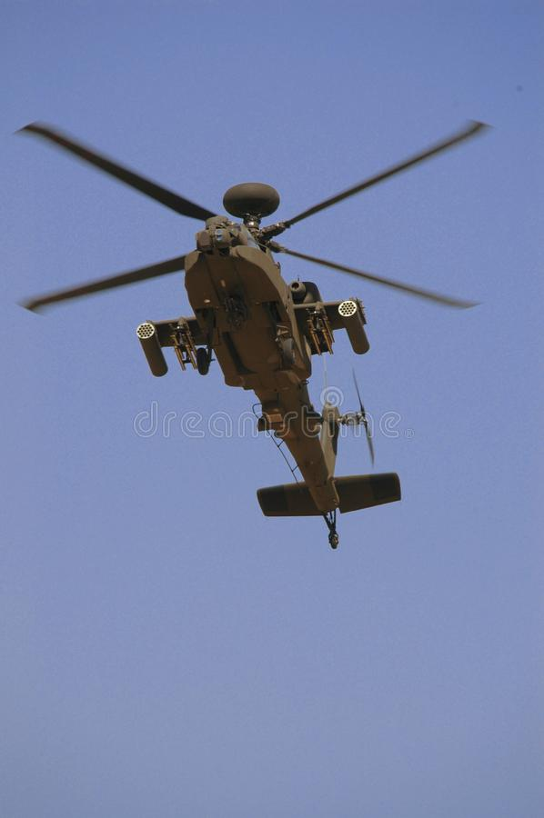 Exposition D'armée Du Kowéit (hélicoptère) Photos Stock