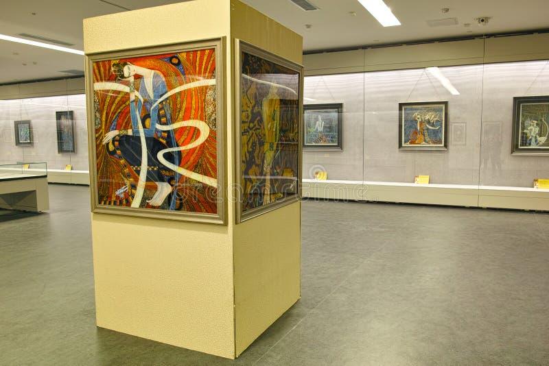 Exposition d'art image stock