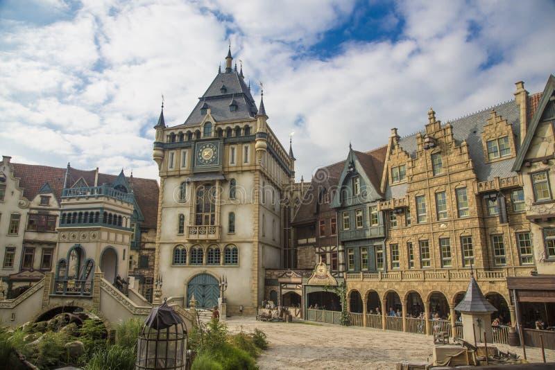Exposition d'Efteling - parc à thème en Hollande photographie stock libre de droits