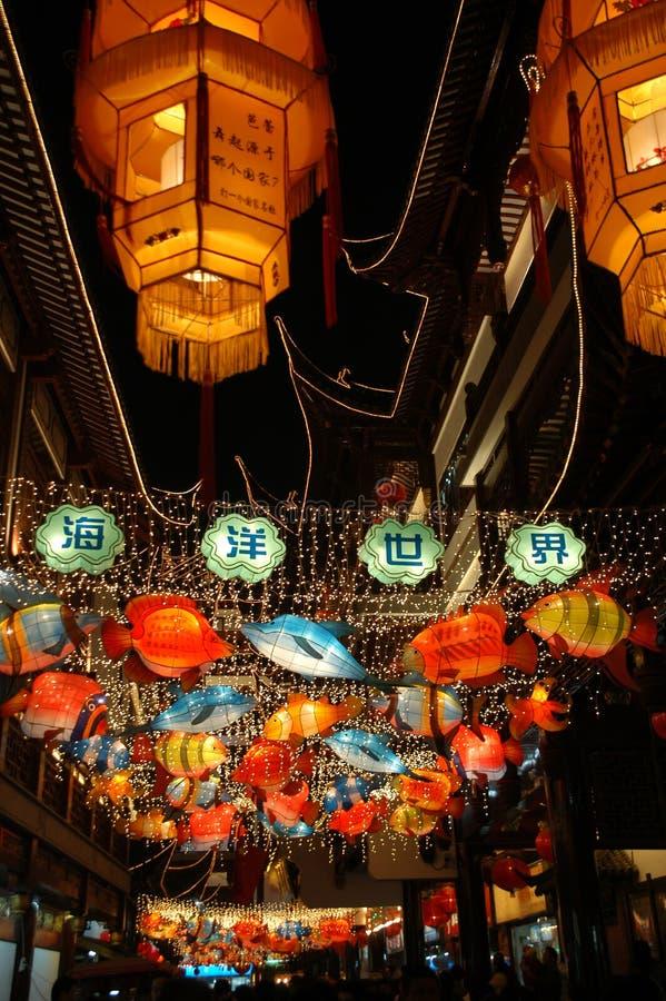 Exposition de lanterne photos stock