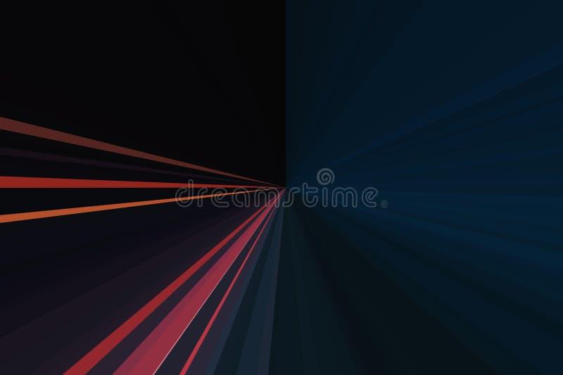 Exposition de laser de lumières Musique de boîte de nuit, lumière saine de danse La nuit DJ de club font la fête L'abstrait rayon photos libres de droits
