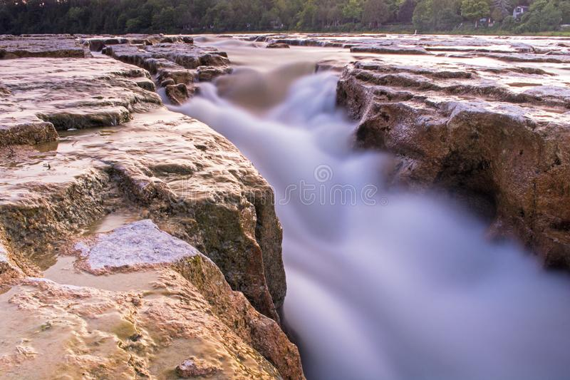 Exposition de Maitland Falls Blurred By Long images stock