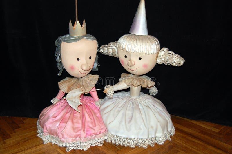 Exposition de marionnette photographie stock libre de droits