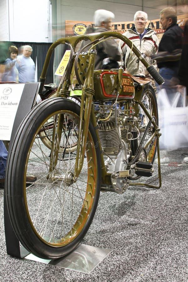 Exposition Harley Davidson de moto de Chicago photo stock