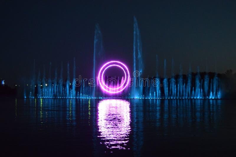 Exposition kazakh de l'eau - Astana, Kazakhstan images libres de droits
