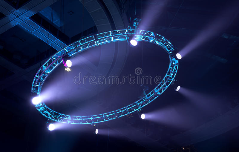 Exposition légère au concert images libres de droits