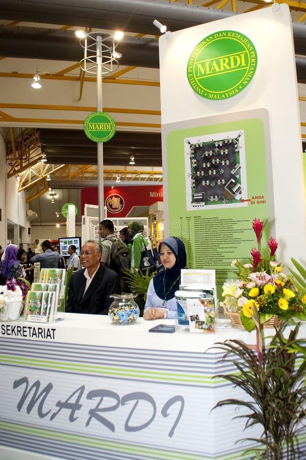 Exposition malaisienne d'agriculture et d'Agrotourism photos libres de droits
