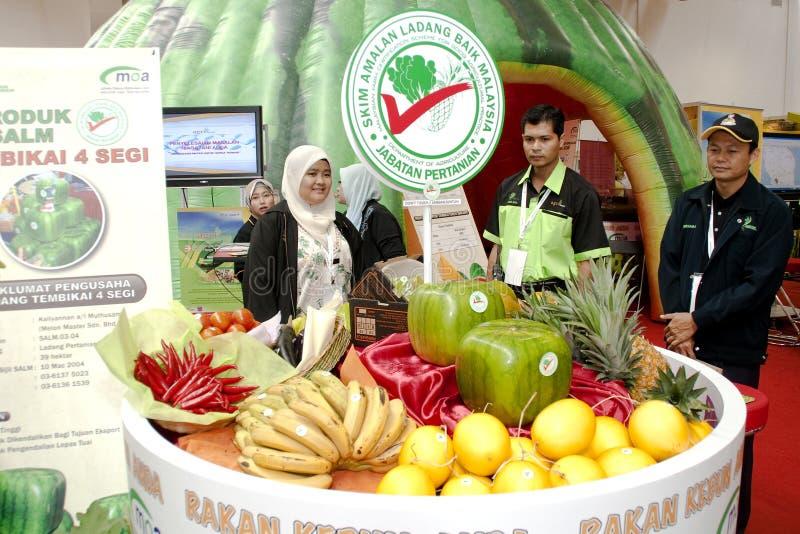 Exposition malaisienne d'agriculture et d'Agrotourism photographie stock