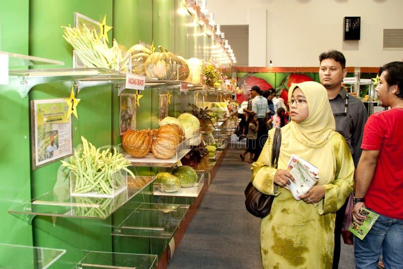 Exposition malaisienne d'agriculture et d'Agrotourism photo libre de droits
