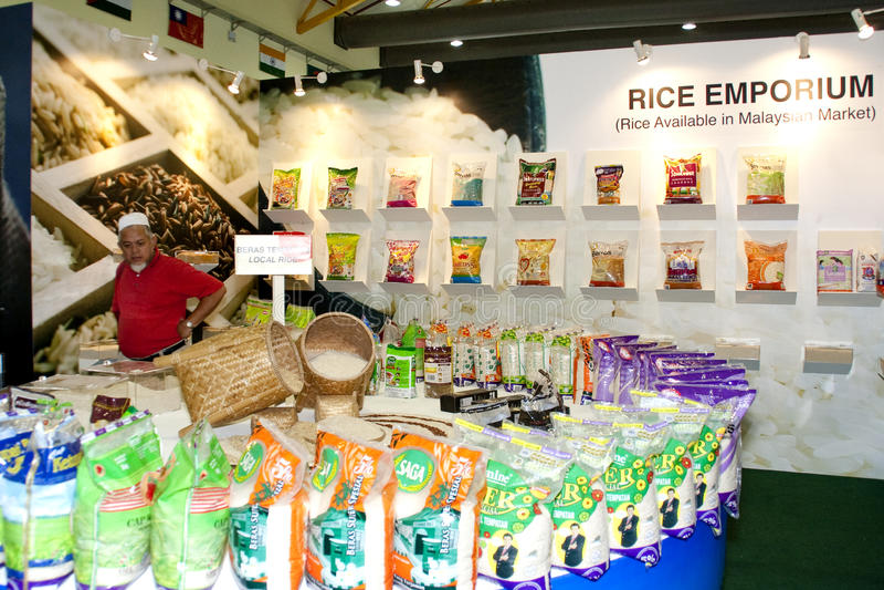 Exposition malaisienne d'agriculture et d'Agrotourism photos stock