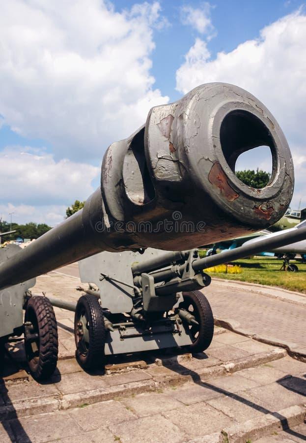 Exposition militaire à Varsovie image stock