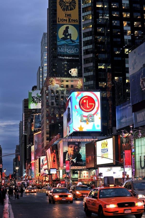 Expositions de Broadway image stock